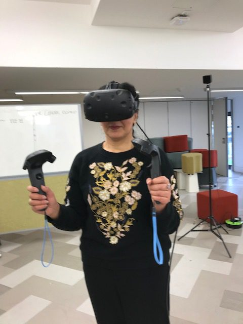 VR Healthy Eating Game